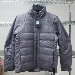 Nike coat fall zippered pockets synthetic fill NWT